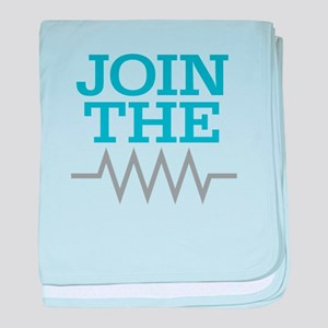 Join The Resistance baby blanket
