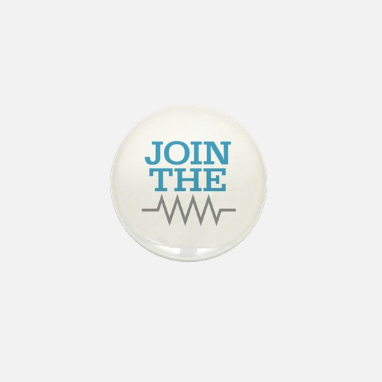 Join The Resistance Mini Button
