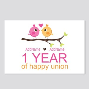1st Anniversary Personali Postcards (Package of 8)