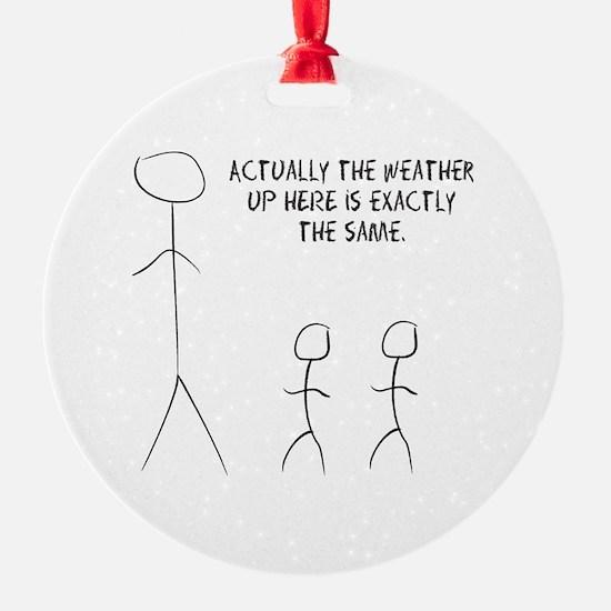 tall stick man Ornament
