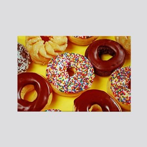 Assorted delicious donuts Magnets