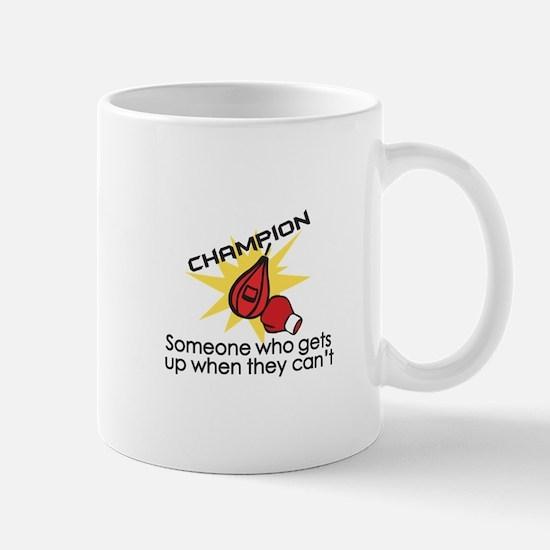 Boxing Champion Mugs
