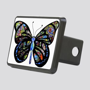 Wild Cool Butterfly Rectangular Hitch Cover
