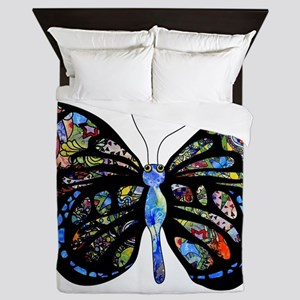 Wild Cool Butterfly Queen Duvet