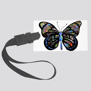 Wild Cool Butterfly Large Luggage Tag