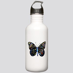 Wild Cool Butterfly Stainless Water Bottle 1.0L