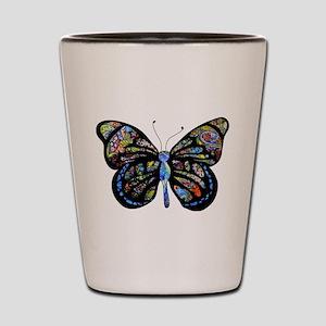 Wild Cool Butterfly Shot Glass