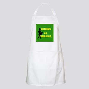 NO farms no farm girls funny woman Apron