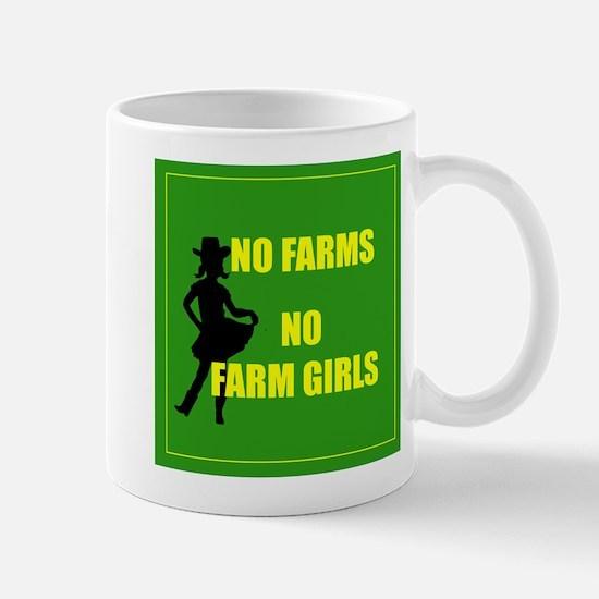NO farms no farm girls funny woman Mugs