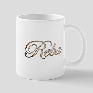 Gold Reba Mugs
