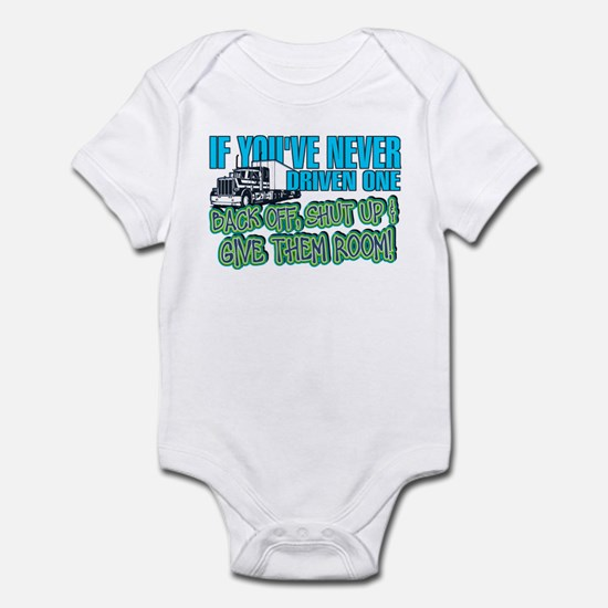 Trucker Back Off Infant Bodysuit