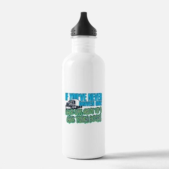 Trucker Back Off Water Bottle