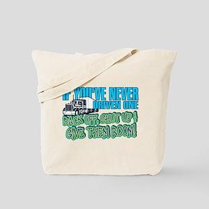 Trucker Back Off Tote Bag