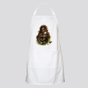 Orangutan Baby and Butterfly Apron