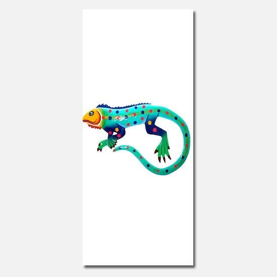 Fiesta Lizard Invitations