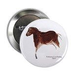 Horse Cave Painting Button