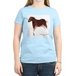 Horse Cave Painting Women's Light T-Shirt