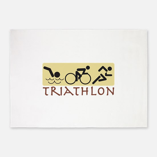 Triathlon 5'x7'Area Rug