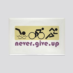 Never Give Up Magnets