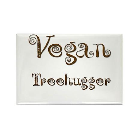 Vegan 1 Rectangle Magnet (10 pack)