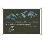 Never Lost in Mountains Banner
