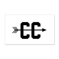 Cross Country CC Wall Decal