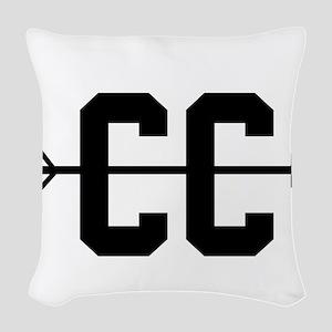 Cross Country CC Woven Throw Pillow