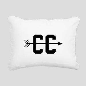 Cross Country CC Rectangular Canvas Pillow