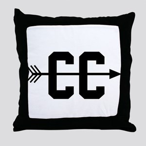 Cross Country CC Throw Pillow