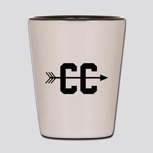 Cross Country CC Shot Glass