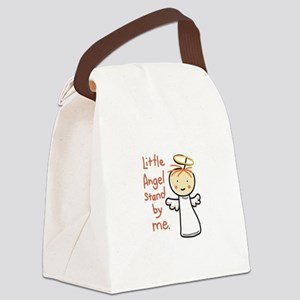 Little Angle Stand By Me. Canvas Lunch Bag