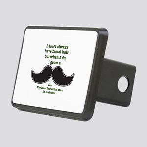 Mustache Saying Hitch Cover