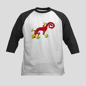 Crazy Colorful Lizard 2 Baseball Jersey