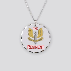 The Regiment Necklace Circle Charm