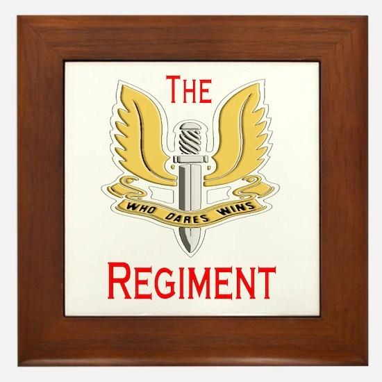 The Regiment Framed Tile
