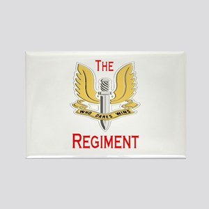 The Regiment Rectangle Magnet