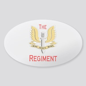 The Regiment Sticker (Oval)