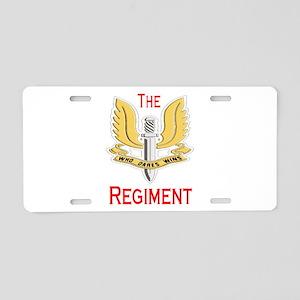 The Regiment Aluminum License Plate