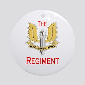 The Regiment Ornament (Round)