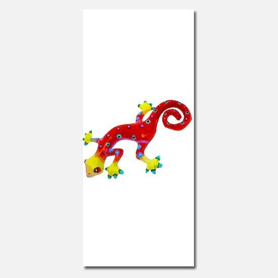 Crazy Colorful Lizard 2 Invitations