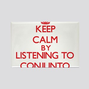 Keep calm by listening to CONJUNTO Magnets