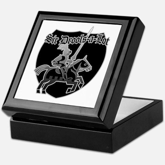 Sir Drools-A-Lot [black] Keepsake Box