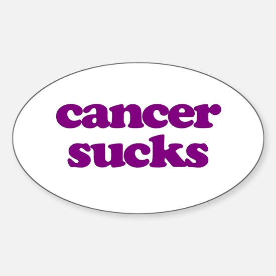 Cute Stomach cancer ribbon Sticker (Oval)