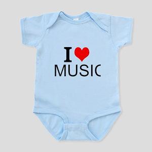 I Love Music Body Suit