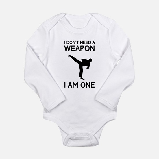 Don't need weapon I am one Body Suit