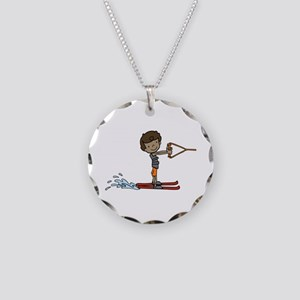 Water Ski Boy Necklace
