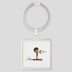 Water Ski Boy Keychains