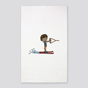 Water Ski Boy 3'x5' Area Rug