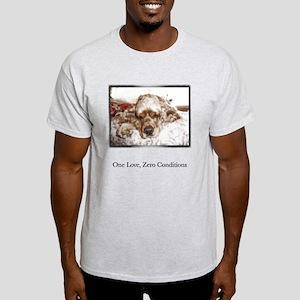 One Love, Zero Conditions Light T-Shirt