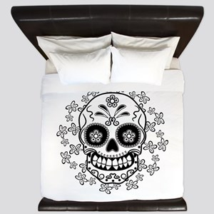 Sugar Skull King Duvet